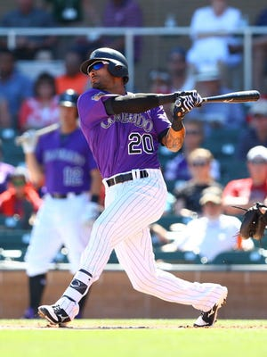 Ian Desmond signed a five-year, $70 million deal with the Rockies this offseason.