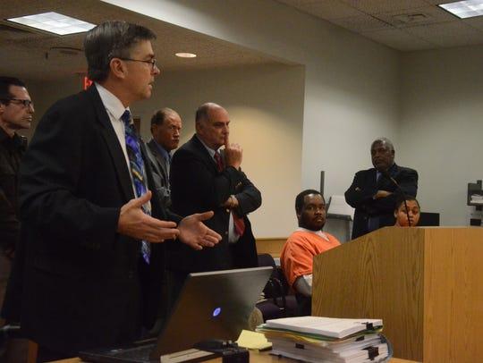 Calhoun County Prosecutor David Gilbert explains delays