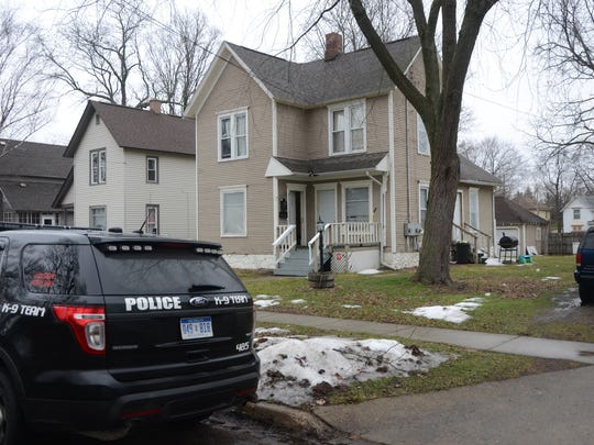 Battle Creek police were called to a house on North Union Street for an assault Sunday morning.