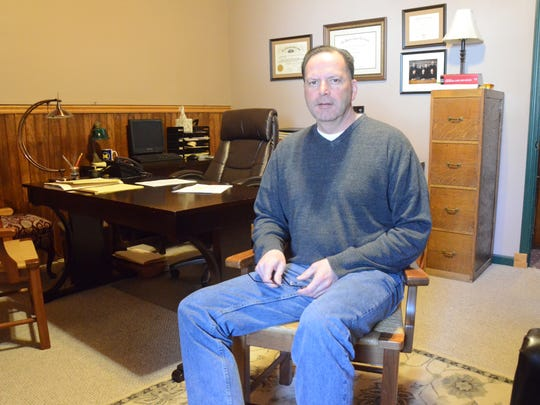 Paul Beardslee expects to take the Calhoun County District Court bench before the end of March.