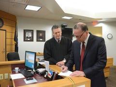 Beardslee takes oath as judge