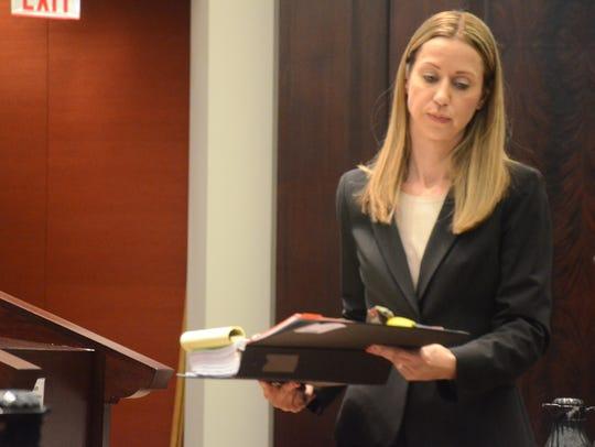 Jennifer Clark argued against a new trial for Lorinda