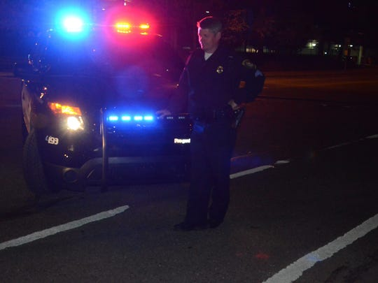 Sgt. Mike Wood is a patrol supervisor working the night
