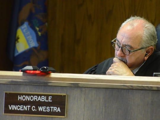 Kalamazoo County District Court Judge Vincent Westra.