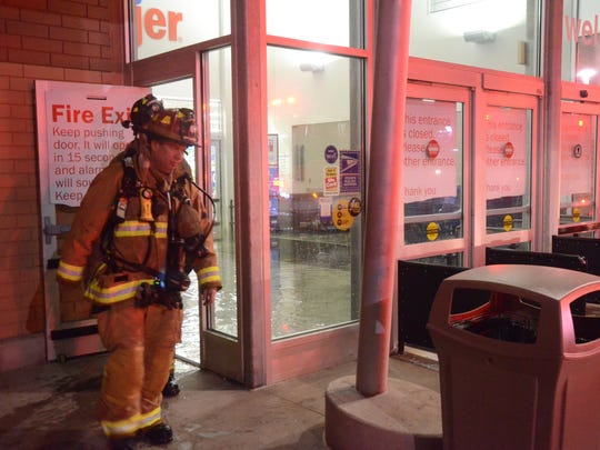 Battle Creek firefighters were at the Meijer Inc. store on West Columbia Avenue Monday morning for an electrical fire.