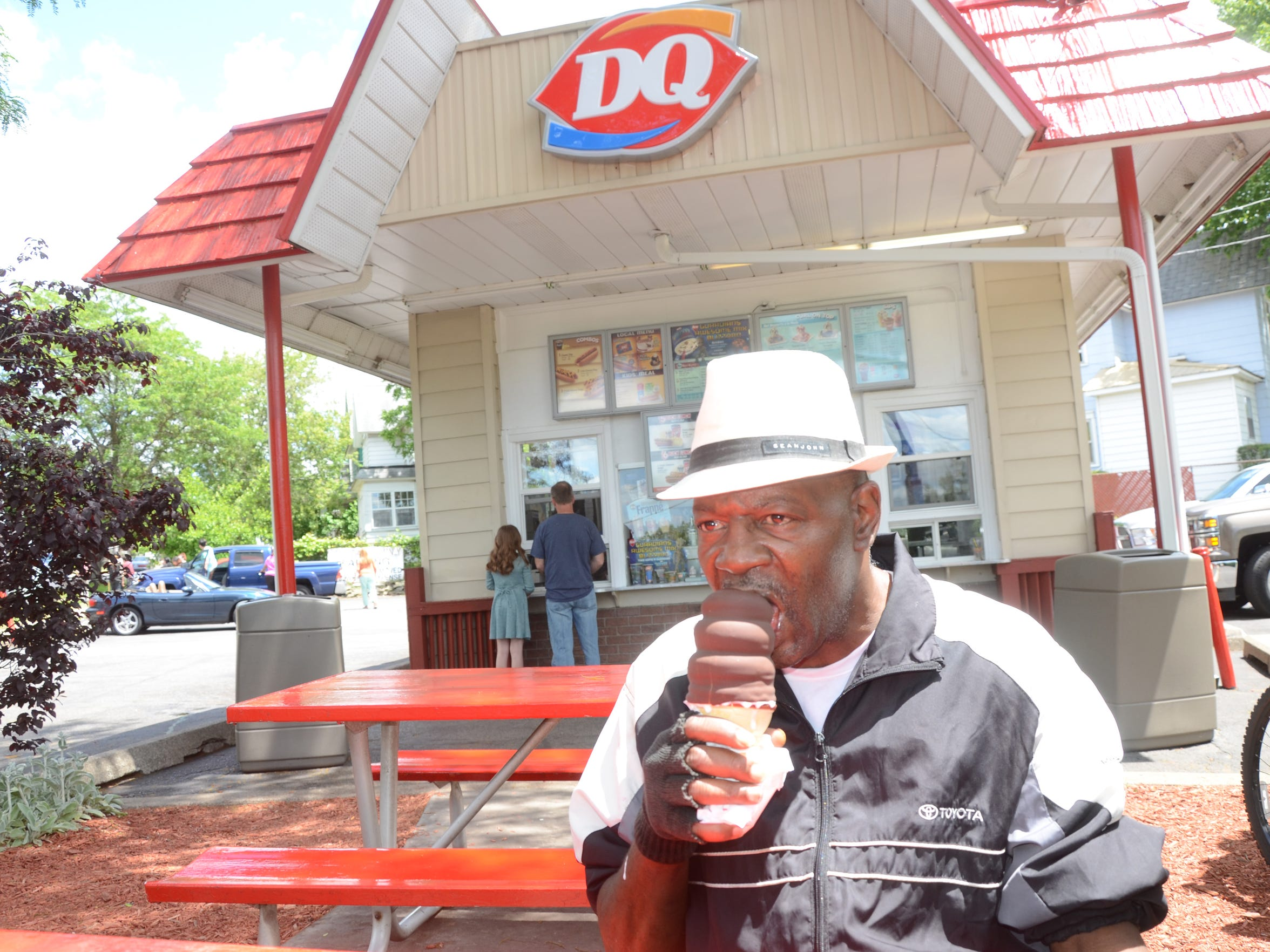 Sometimes the wait for ice cream at the Dairy Queen