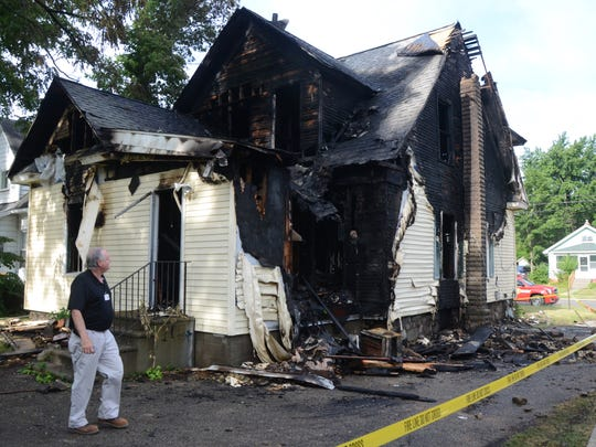 A house on Caine Street has been condemned following an early morning fire on Wednesday, June 28, 2017.