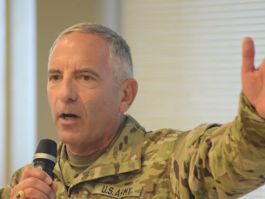 Maj. Gen. Gregory Vadnais, adjutant general of the