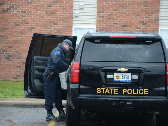 Investigators from the Michigan State Police will spend several hours at the scene of a Monday fatal police shooting.