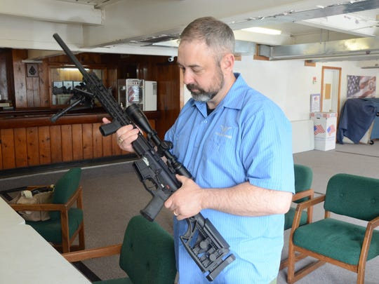 "Chris Walden of Walden Arms in Battle Creek will teach a class on ""Build Your Own AR-15 Rifle."""