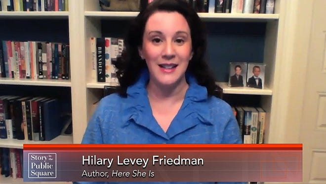 """Brown University sociologist Hilary Levey Friedman appears Sunday on """"Story in the Public Square."""""""