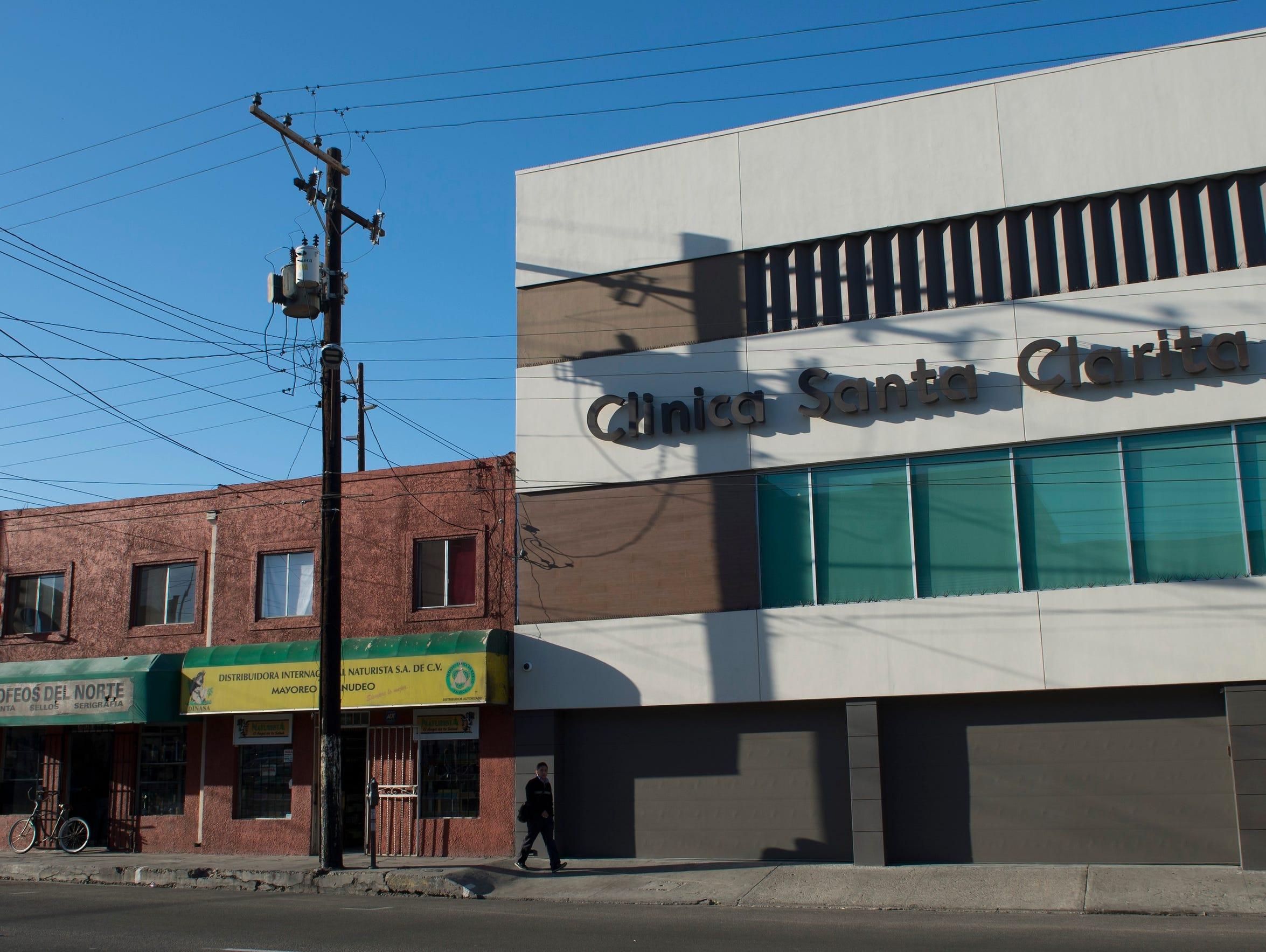 Novastem, a clinic in Tijuana, Mexico, administers