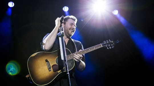 Chris Young performs at the Big Barrel Country Music