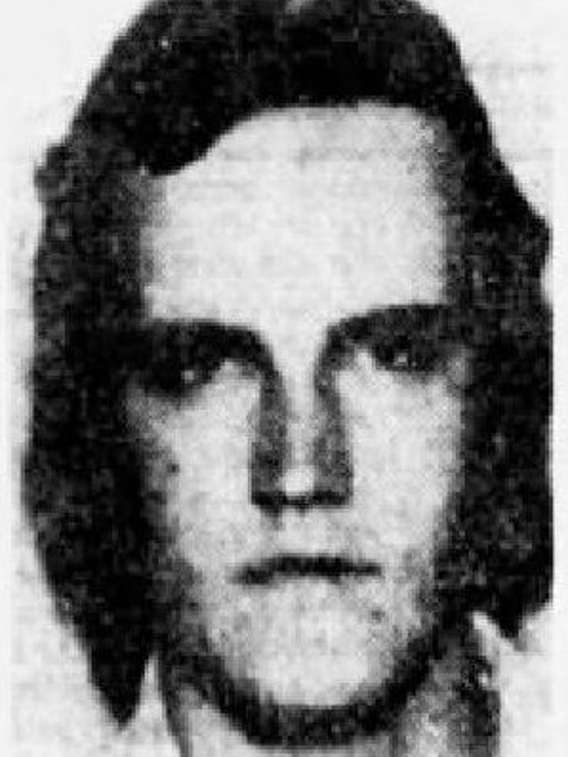 A mugshot of Raymond Tison in an archive from The Arizona