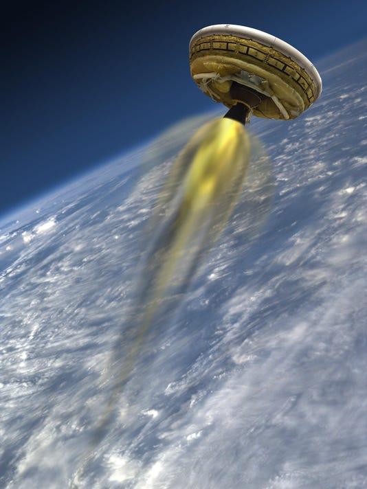 mars landing with balloons - photo #34