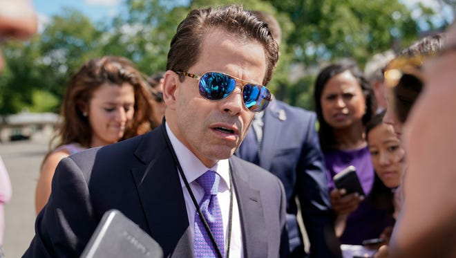 White House communications director Anthony Scaramucci.