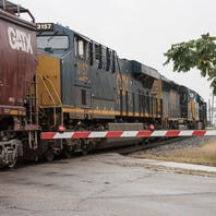 Woman in critical condition after being struck by train in South Lyon