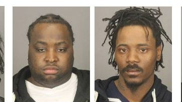 Four charged with criminal possession of a weapon and criminal possession of stolen property.