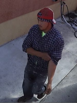 Suspect in alleged armed robbery at Lehigh Acres supermarket.