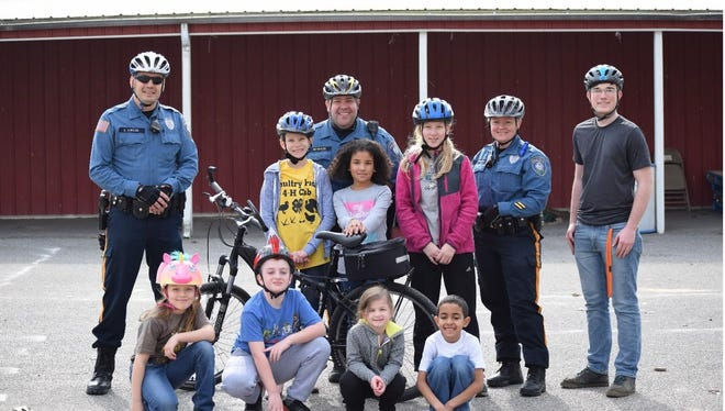 The Cumberland County 4-H Bike Rodeo, held on March 25, was a success. Participants had fun and learned about bicycle safety from officers from the Millville Police Department.