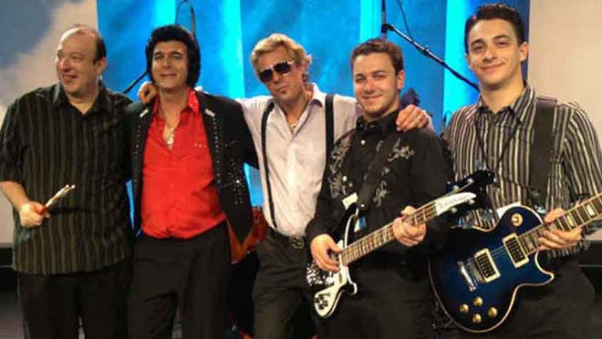 The Blue Suede Shoes Band will perform music with direct or indirect connections to Nashville in the 1950s and 1960s at Centenary Stage Co. in Hackettstown on Saturday, Aug. 1. The group specializes in songs by Elvis Presley and Jerry Lee Lewis, among others.