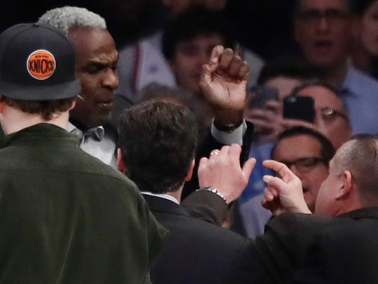 Report Knicks Owner James Dolan Fires Msg Security Chief After Charles Oakley Incident