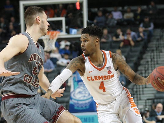 NCAA Basketball: ACC Conference Tournament-Clemson vs Boston College