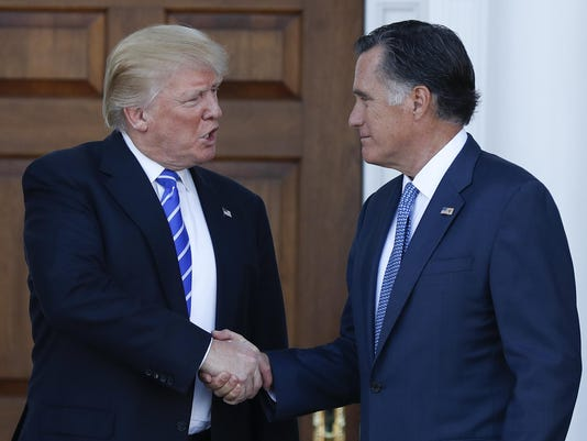 Mitt Romney,Donald Trump