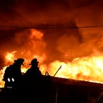 Photos: Massive fire destroys South Londonderry Township business