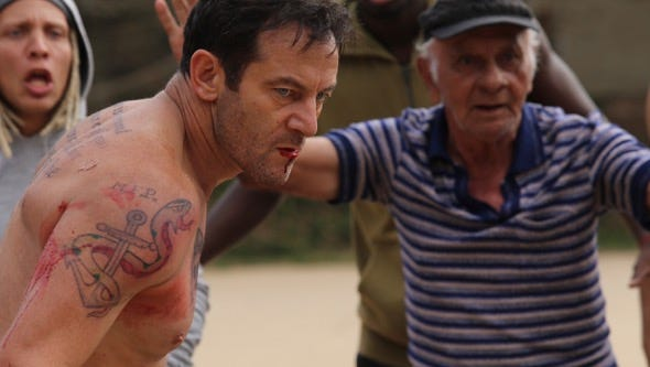 """Jason Isaacs plays a man who  makes an unusual wager in """"Rio, I Love You."""""""