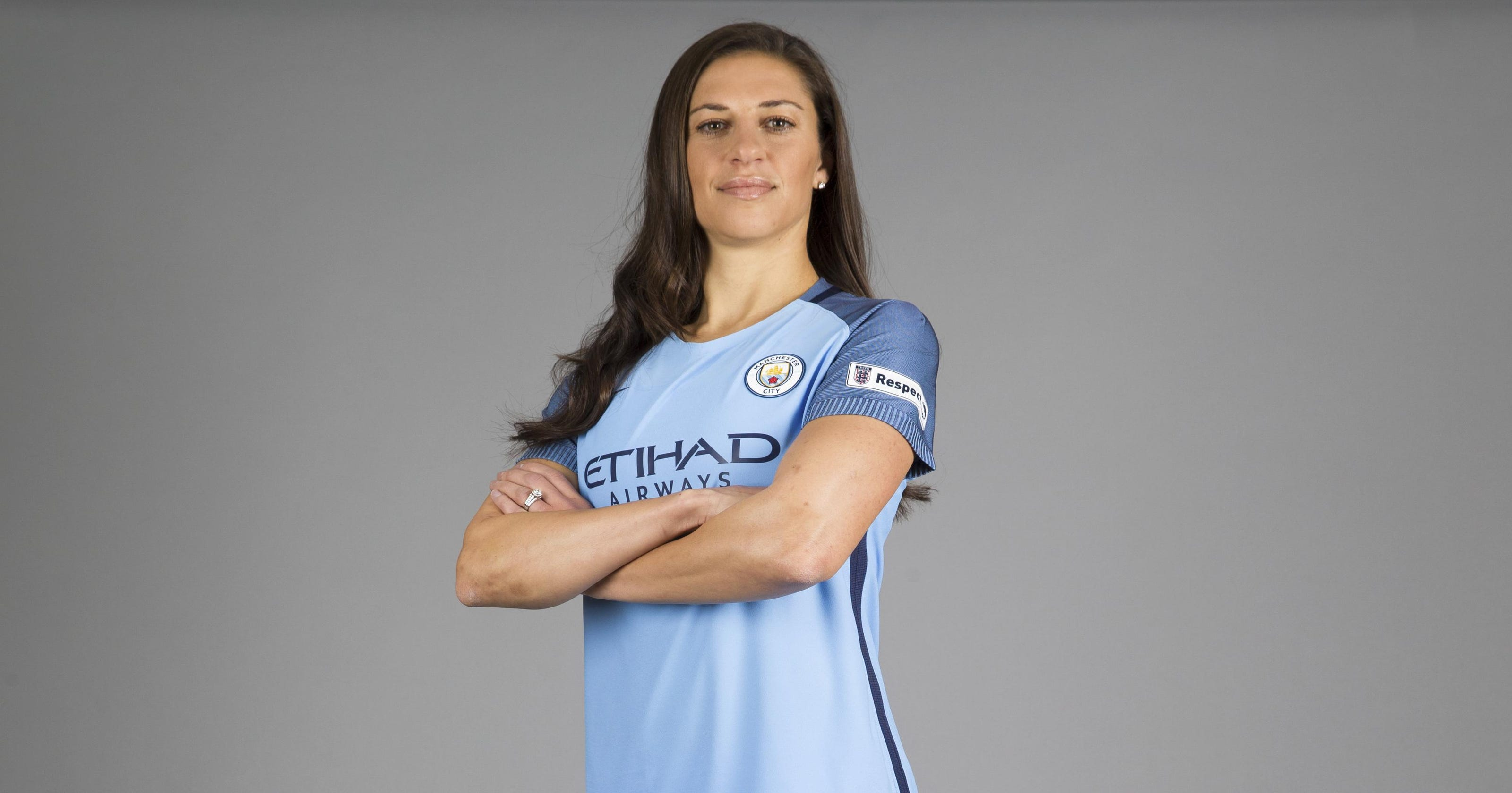 premium selection 137ba 3e069 Carli Lloyd excited by Man City adventure