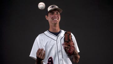 Kyle Miller All Area baseball player of the year. Estero