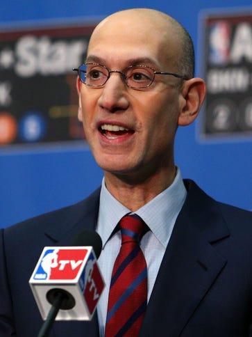 NBA commissioner Adam Silver is bullish on the league.