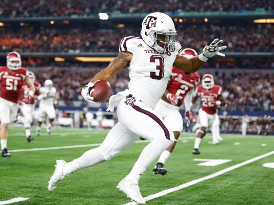 NCAA Football: Texas A&M vs Arkansas