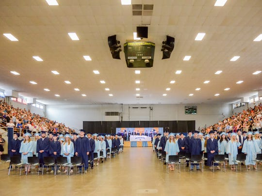 River Valley held the graduation ceremony for the Class