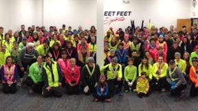 About 170 runners are taking part in Fleet Feet Rochester's annual Winter Warrior program, which keeps people active and outdoors through the winter.