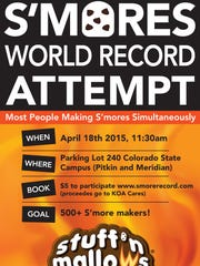 S'mores World Record Attempt