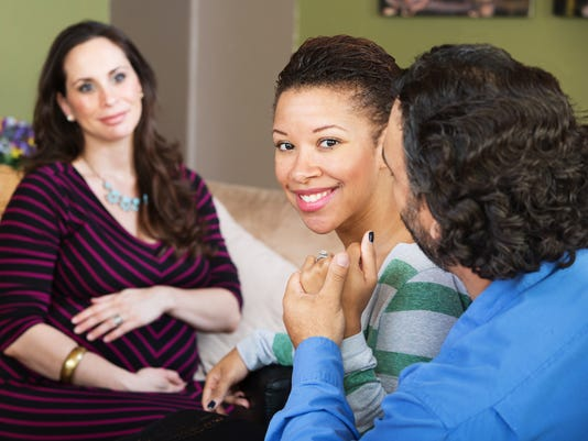 Infertile Couple with Surrogate Mother