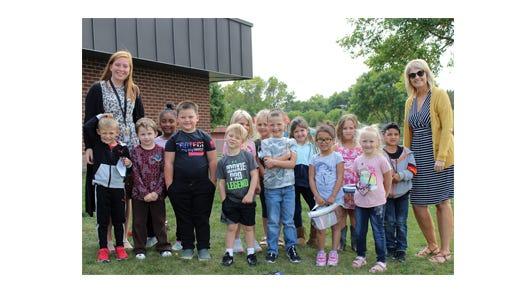 Ms. Wieser's kindergarten class at Sleepy Eye Elementary School