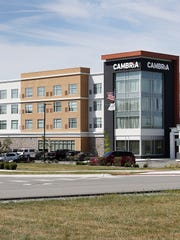 The Cambria hotel is where the Indianapolis Colts will