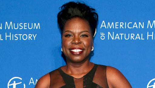 """FILE - This Nov. 17, 2016 file photo shows Leslie Jones at the American Museum of Natural History's Museum Gala in New York. Jones is responding to the announced book deal by Breitbart editor Milo Yiannopoulos, who harassed the """"Saturday Night Live"""" and """"Ghostbusters"""" star on Twitter last year.  (Photo by Andy Kropa/Invision/AP, File)"""