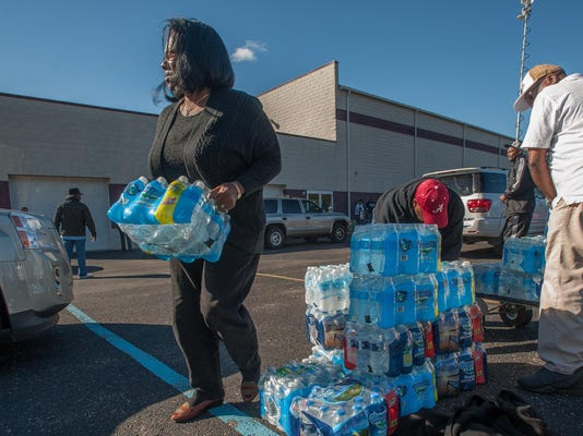 file -- flint water