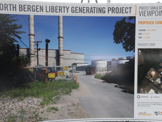 Representaives of North Bergen Liberty Generating came to announce s proposal to build 1200 megawatt natural gas fired electric generating plant.