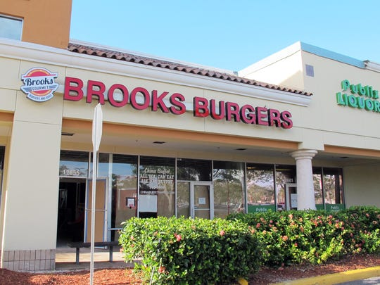 The third Brooks Burgers is targeted to open in January 2018 in the former spot of China Gourmet on the end of the Publix-anchored Freedom Square shopping center at U.S. 41 East and Collier Boulevard.