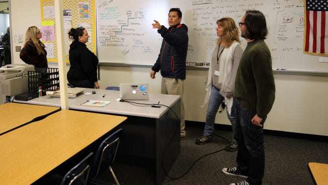 Members of the Rocinante High School redesign team have spent much of the last year developing a plan designed to improve outcomes for the school's students.