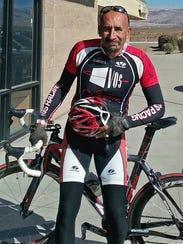 Ernie Gallardo, the newest member of the County bike