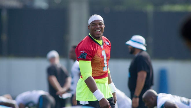 Is Cam Newton the top player in the NFL?