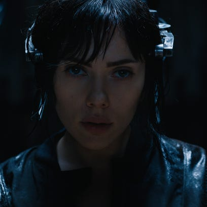 Scarlett Johansson plays The Major in Ghost in the