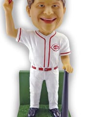 This Teddy Kremer bobblehead is for the Cincinnati Reds game July 20.