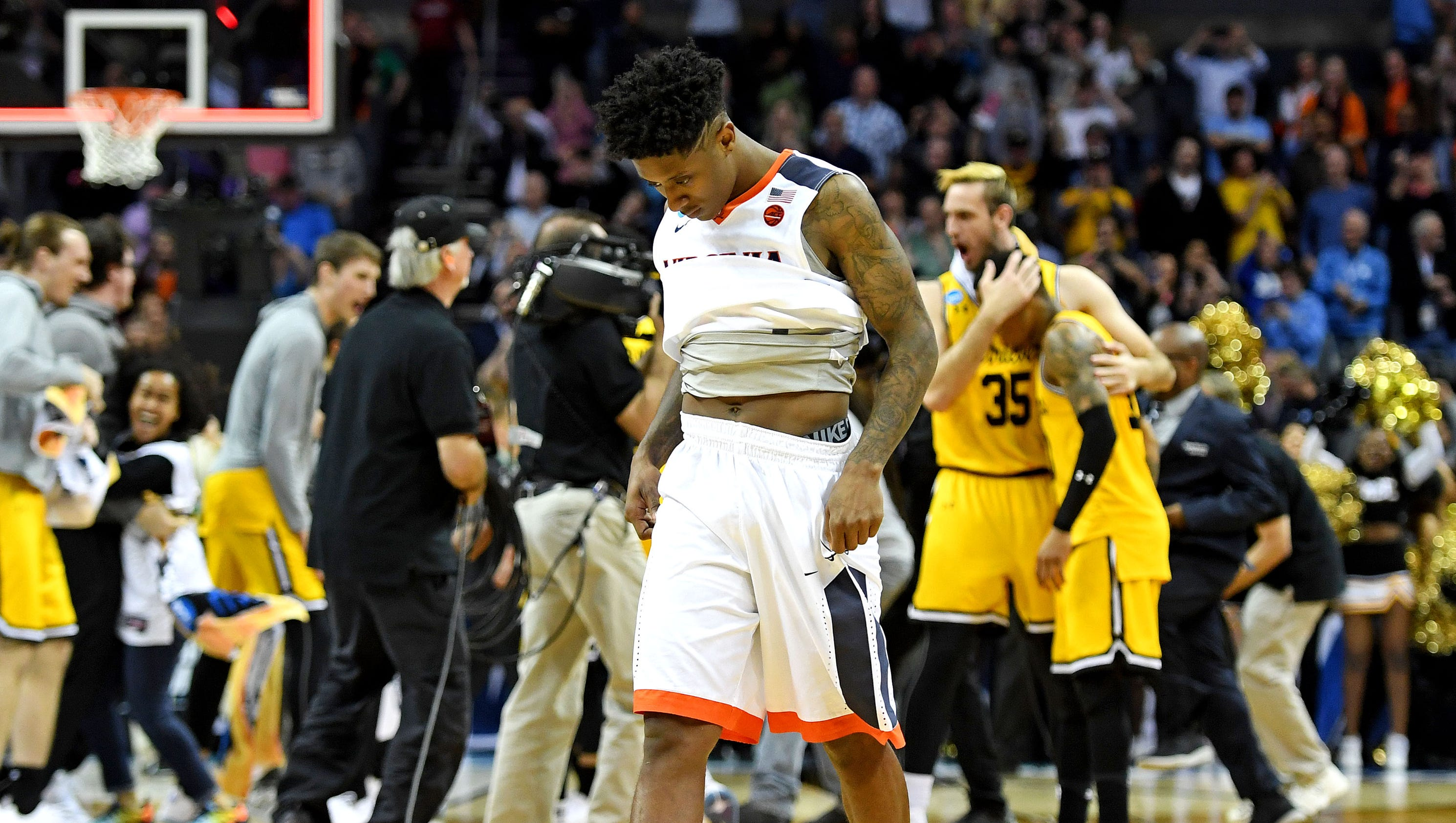 UPDATE NCAA stunner as No 16 seed makes history knocking out No 1